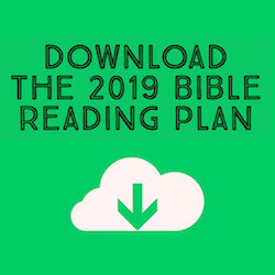2019 Read Through the Bible Plan