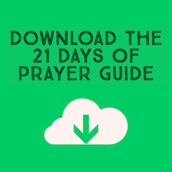 21 Days of Prayer Guide for Bethlehem Baptist Church Knightdale
